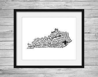 Louisville Kentucky 8X10 Print