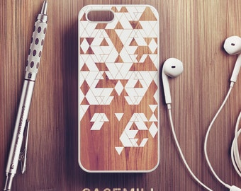 Wood Geometric iPhone 6 Case Wooden iPhone 6s Case iPhone 6 Plus Case iPhone 6s Plus Case iPhone 5s Case iPhone 5 Case iPhone 5c Case