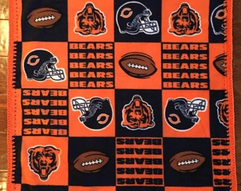 Chicago Bears Fleece Etsy