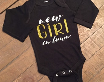 New Girl In Town Black Body Suit