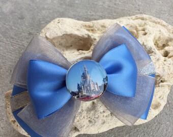 Magic kingdom inspired hairbow