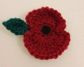 Poppy brooch - remembrance, armistice day.