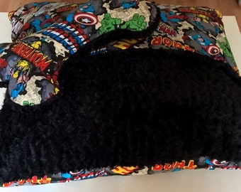 Super hero Snuggle Bed