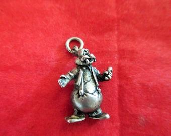 RARE Vintage Wally Walrus Sterling Charm, Howard Lantz, Looney Tunes, Warner Brothers
