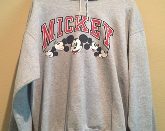 Awesome Vintage Mickey Mouse Hoodie /Large