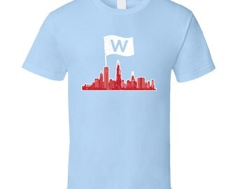 Chicago Cubs Light Blue Tshirt