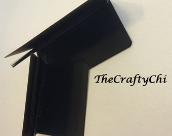 Black 24lb Paper Traveler's Notebook Insert- ALL Sizes, Including B6, B6 Slim, Personal, & A6! Choose Your Cover Color!