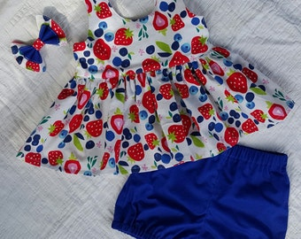 Tea Party Top and Bloomers