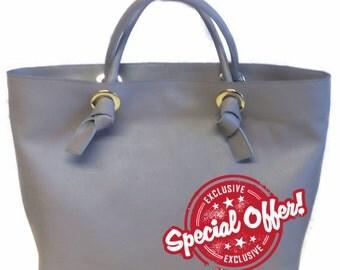 Winter Sale on Nellys Workshop// Beige bag / No lined// Messenger / Diaper bag / Shoulder bag / Tote bag / Shopping bag