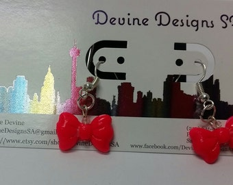 All Tied-Up Bow Earrings