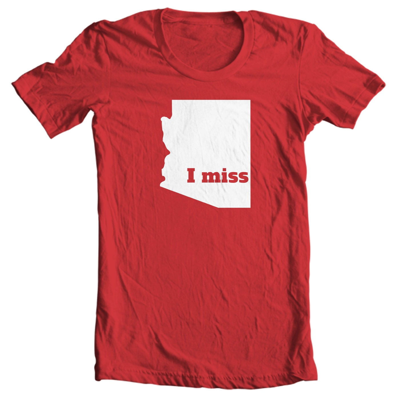 Arizona Kids T-shirt - I Miss Arizona - My State Kids Arizona T-shirt
