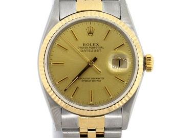 Men's Rolex Datejust 2-Tone