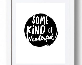 Some Kind of Wonderful - *INSTANT DOWNLOAD