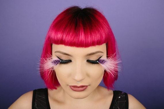 Party Feather Lashes