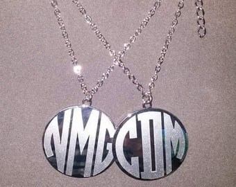 Monogram necklaces, initials necklaces, monogram name necklaces, monogram jewelry