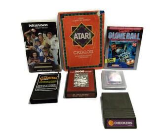 Vintage Video Game Assortment - Atari Sega