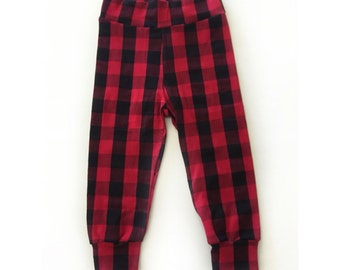Red plaid pants/leggings