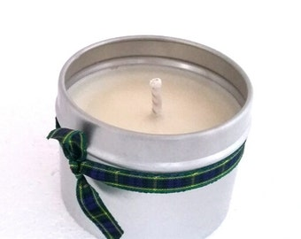 Rose Scented Natural Soy Wax Handmade in Scotland Tin Candle