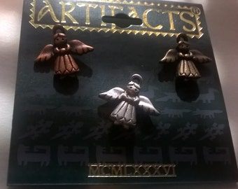 Vintage Artifacts Small Angel Pendants