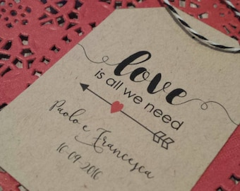 "10 Tags MoD. ""LOVE is all we need"""