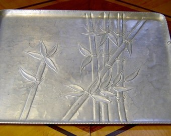 "forged aluminum ""ever wear"" serving tray"