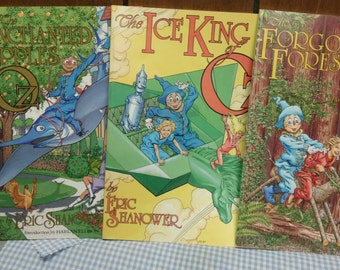 Wizard of Oz Graphic Novels Set of 3 by Eric Shanower
