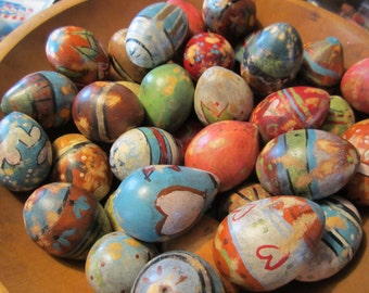 hand painted egg gourds