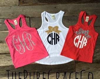 Monogram Toddler Tank