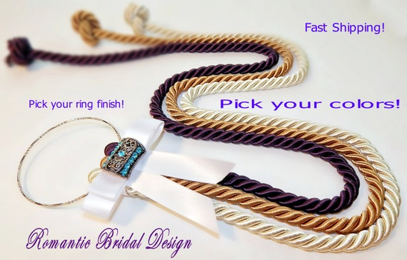 Of three strands rope wedding unity braid 3 cord strands marriage