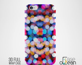Bokeh Lights phone case, iPhone 6 6s 6Plus phone case, iPhone 5 5s 5c 4 4s bokeh phone case, Samsung Galaxy S6 S5 S4 S3 bokeh phone case