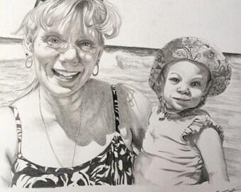 RESERVED 8x10 Custom Portrait Order for Valerie