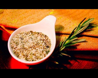 Organic Rosemary Sea Salt