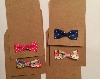 Assorted Bowtie Gift Tags-Set of 6