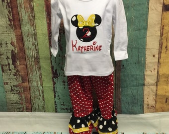 Minnie Mouse Outfit, Minnie Mouse Birthday outfit