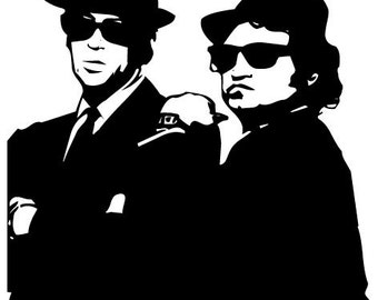 Blues Brothers Sticker Decal