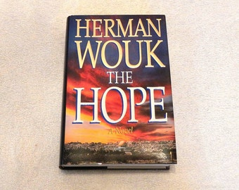 The Hope A Novel by Herman Wouk Vintage Hardcover Book 1993 First Edition
