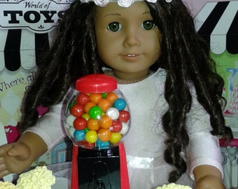 Gumball Machine fit for Doll's such as American girl 18 Inch Dolls