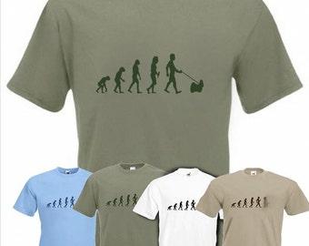 Evolution To Shih Tzu t-shirt Funny Dog T-shirt in sizes Sm to 2XXL