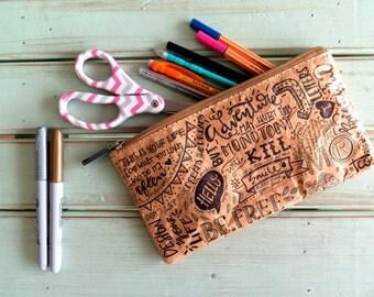 Paper Pencil Case
