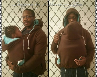 Baby wearing hoodie,  Baby wearing coat, Babywearing moms; Baby wearing Dads; Babywearing Hoodie; Christmas Gift; Baby Shower Gift