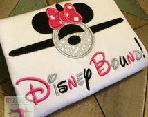 Disney Bound Inspired Minnie Airplane Shirts in Adult and Kid Sizes!! - Flying to Disney - Disney Plane - Mickey Airplane