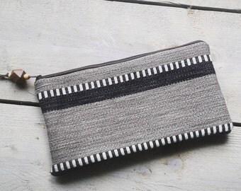 Aztec clutch boho bag pouch