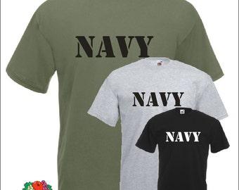 US Navy Army T-Shirt Air Force Marines Military shirt