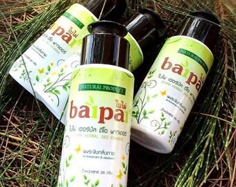 NEW FORMULA!.... Natural Thai Herb Deodorant Powder 24hr. Protection. Underarm and Foot Deodorant Powder