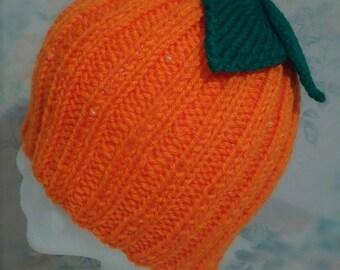 Fruity Cutie Beanie - Orange