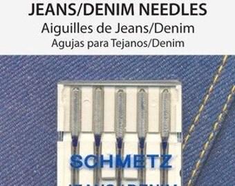 Schmetz Denim Needles 18/110 5 Pack