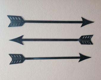 Arrows (Set of 3), Home Decor, Wall Art, Unpainted