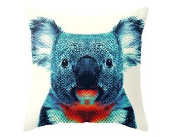 Koala Pillow - Colorful Animals