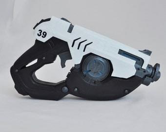 Overwatch Tracer gun / pistol, customizable color / props cosplay
