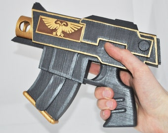 Warhammer 40k Bolt Pistol any color Full size prop / replica